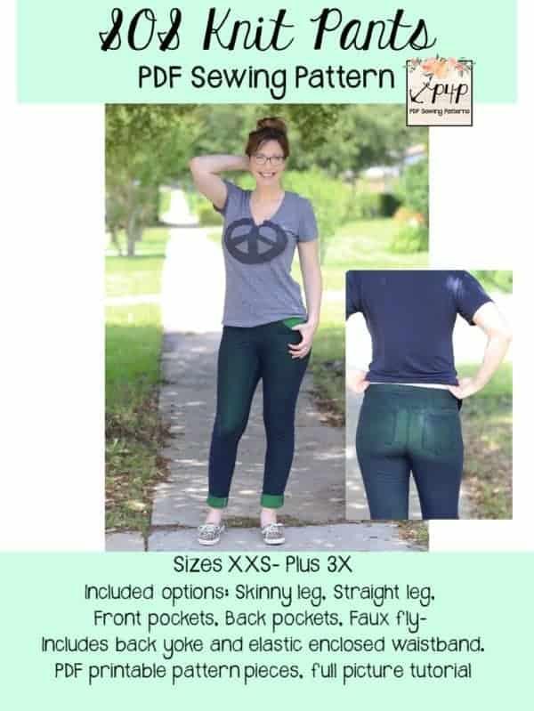 219f1f11ba241 SOS Knit Pants - Patterns for Pirates