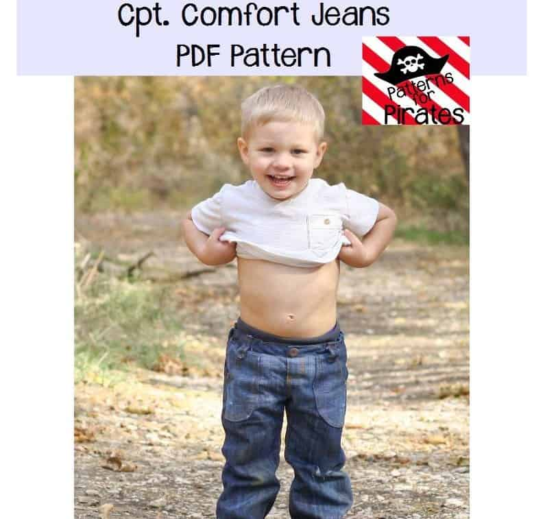 Cpt Comfort Jeans Patterns For Pirates