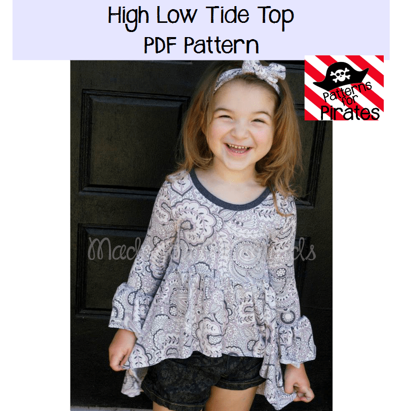 High Low Tide Top Patterns For Pirates