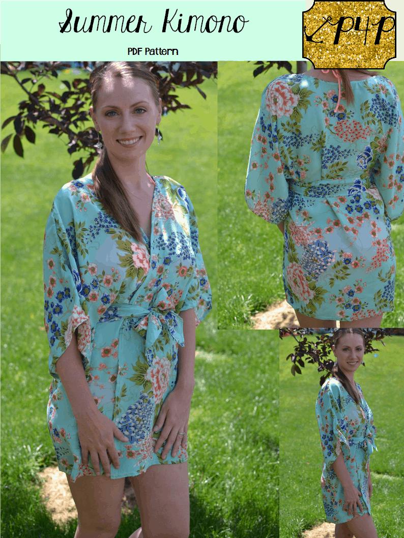 Kimono Cover Up Pattern