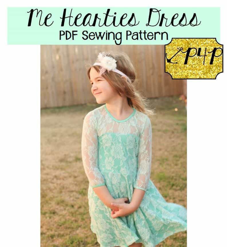Me Hearties Dress - Patterns for Pirates