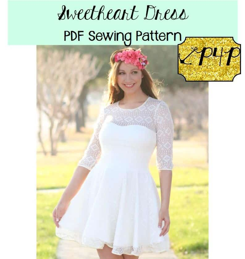 Sweetheart Dress Patterns For Pirates