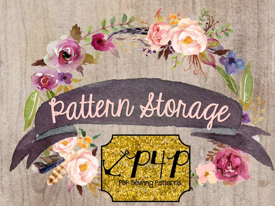 Pattern Storage- Sew it, Win it, Build it- from P4P - Patterns for ...