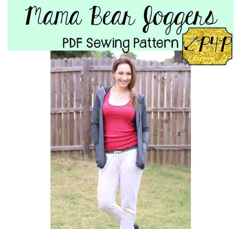 Mama Bear Joggers Patterns for Pirates Inspiration Patterns For Pirates