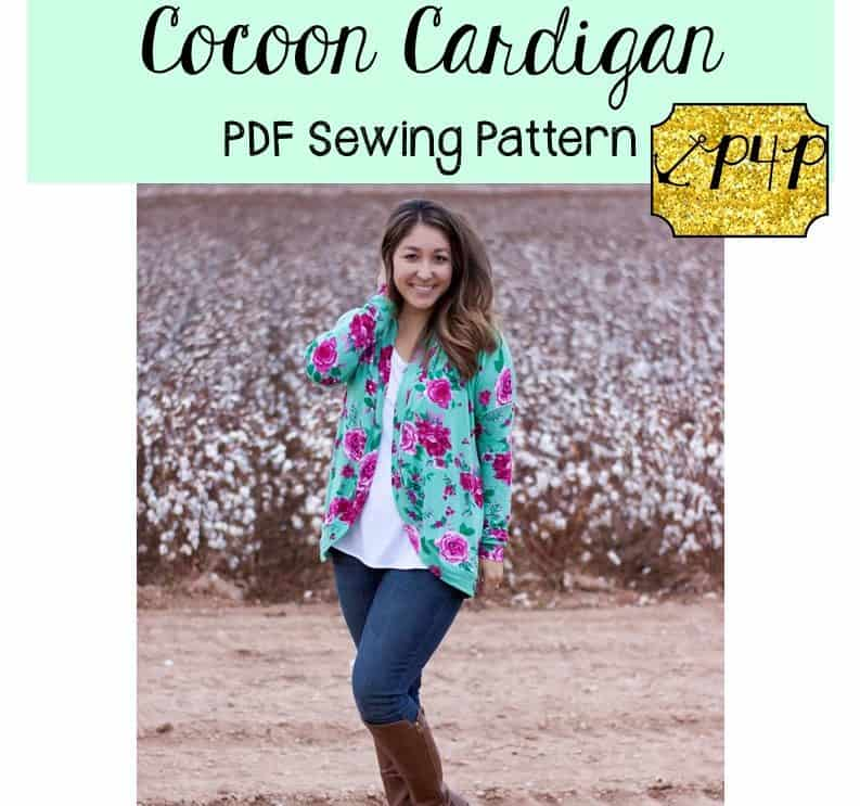 06f970800c07 Cocoon Cardigan - Patterns for Pirates