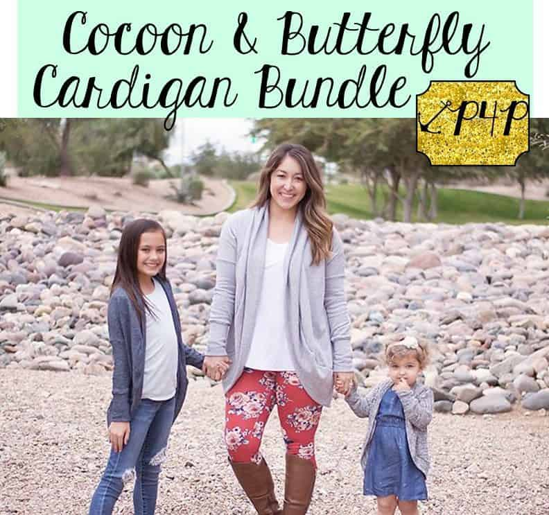 Cocoon and Butterfly Cardigan Bundle Patterns for Pirates Beauteous Patterns For Pirates