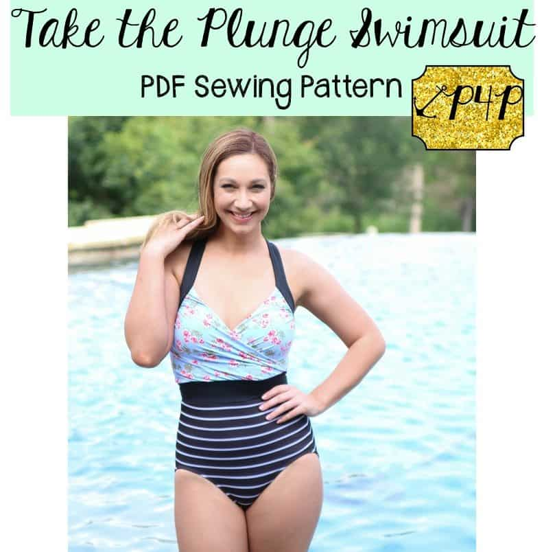 8f509933d35ad Take the Plunge Swimsuit - Patterns for Pirates