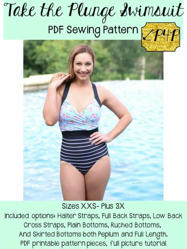 612f365712 Take the Plunge Swimsuit - Patterns for Pirates