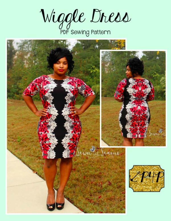 1ffac8dc7 Wiggle Dress - Patterns for Pirates
