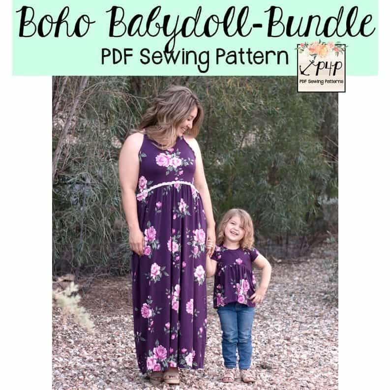 Boho Babydoll Bundle - Patterns for Pirates