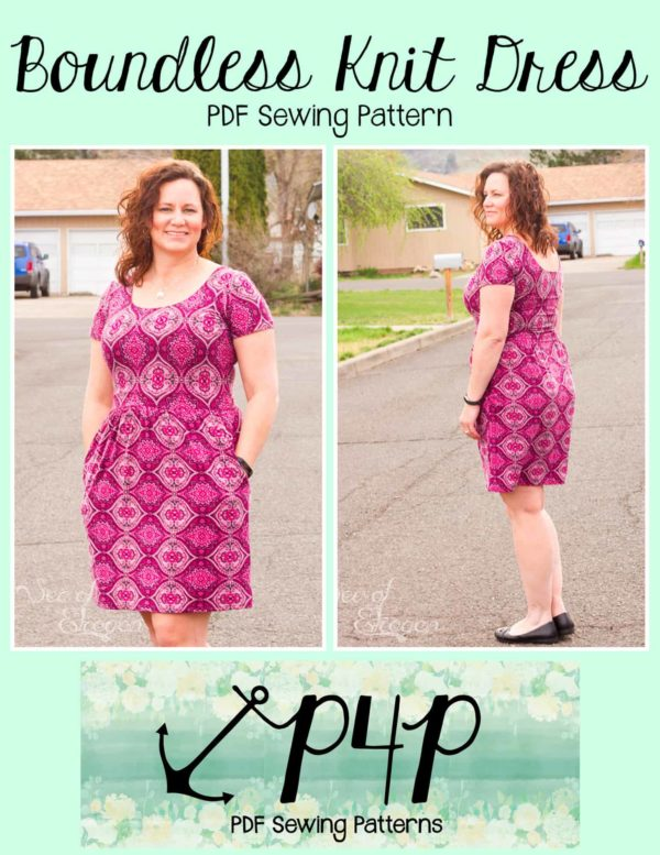 Boundless Knit Dress - Patterns for Pirates