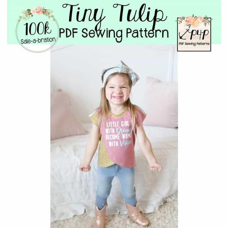 Free Tiny Tulip - Patterns for Pirates