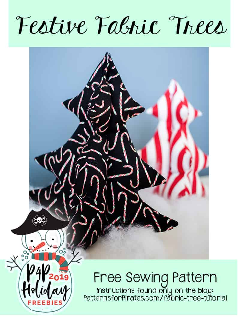 Free Festive Fabric Trees Patterns For Pirates