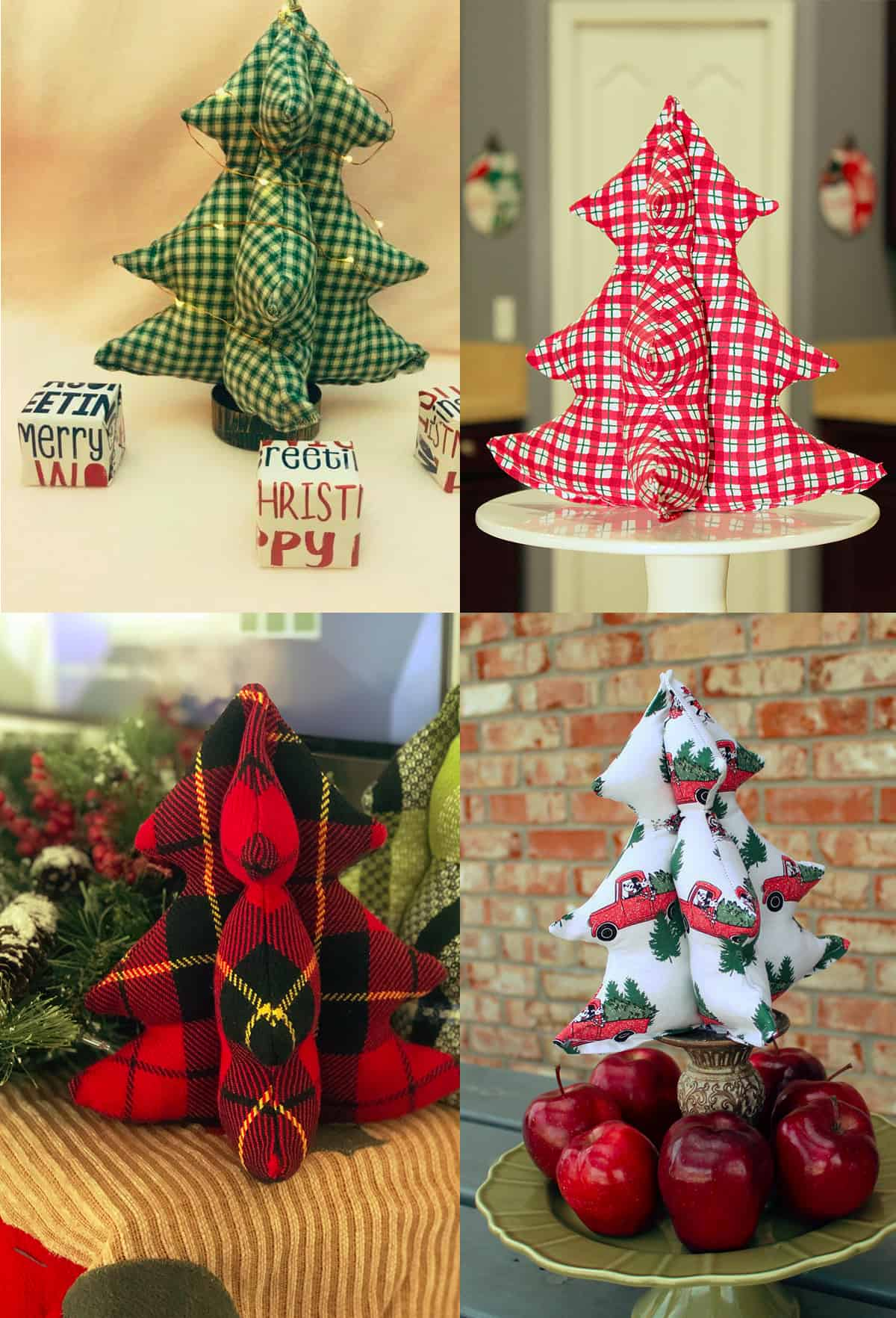 2019 Holiday Freebies Festive Fabric Trees Patterns For Pirates