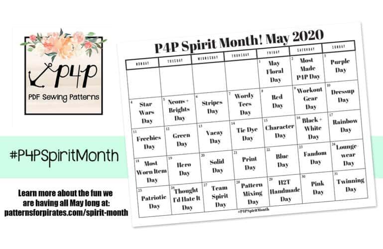 P4P Spirit Month 2020