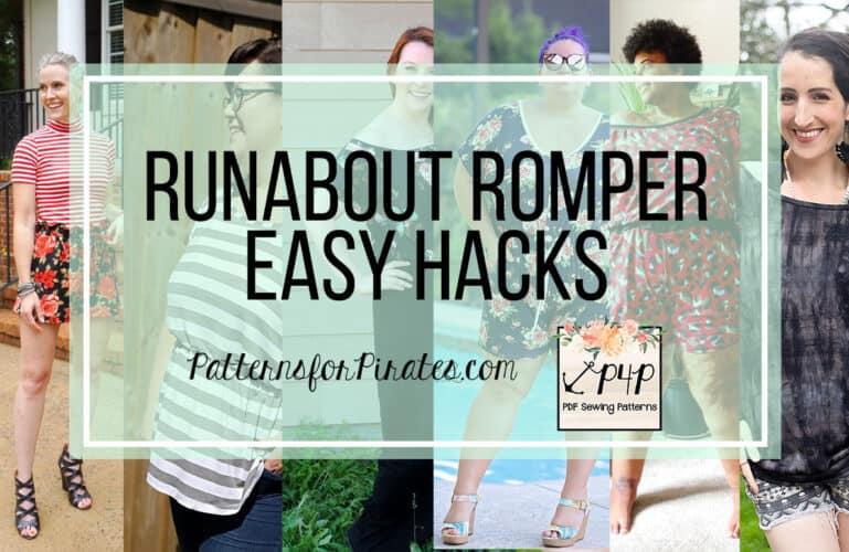 Runabout Romper – easy hacks
