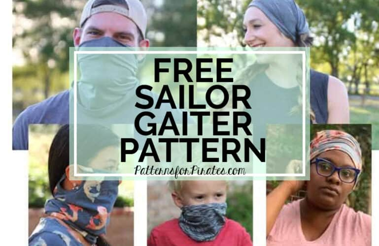New Pattern Release :: Sailor Gaiter FREEBIE (5 Sizes Included!)