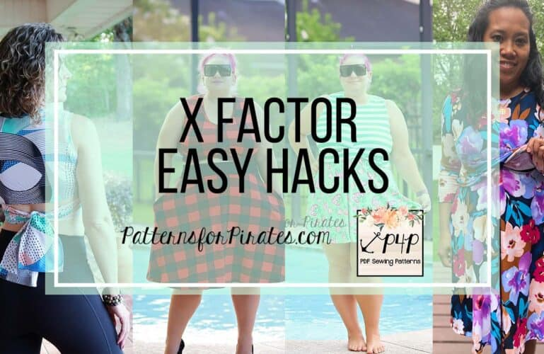 X Factor Top and Dress Easy Hacks