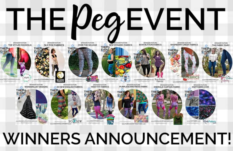 The Peg Event :: Giveaway Winners!