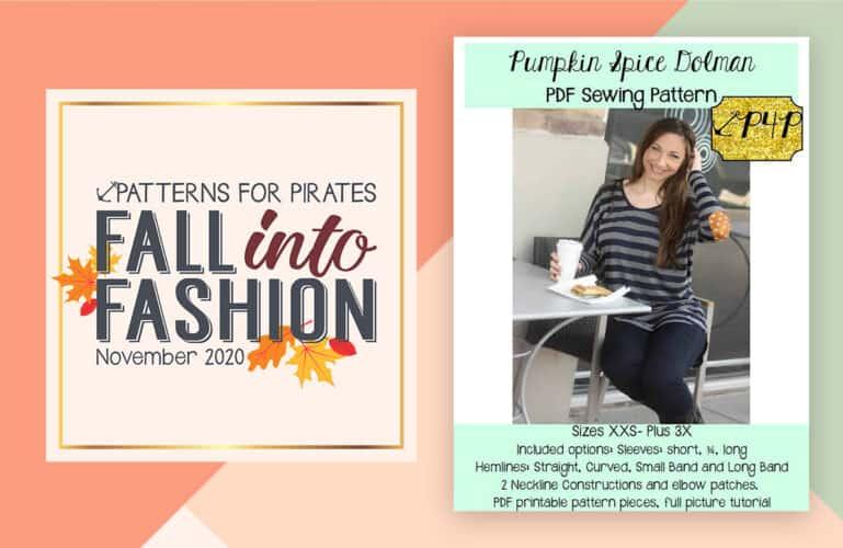 Fall Into Fashion – November 25 :: Pumpkin Spice Dolman