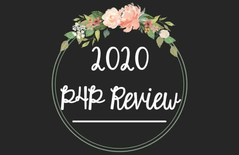 2020, A Year in Review