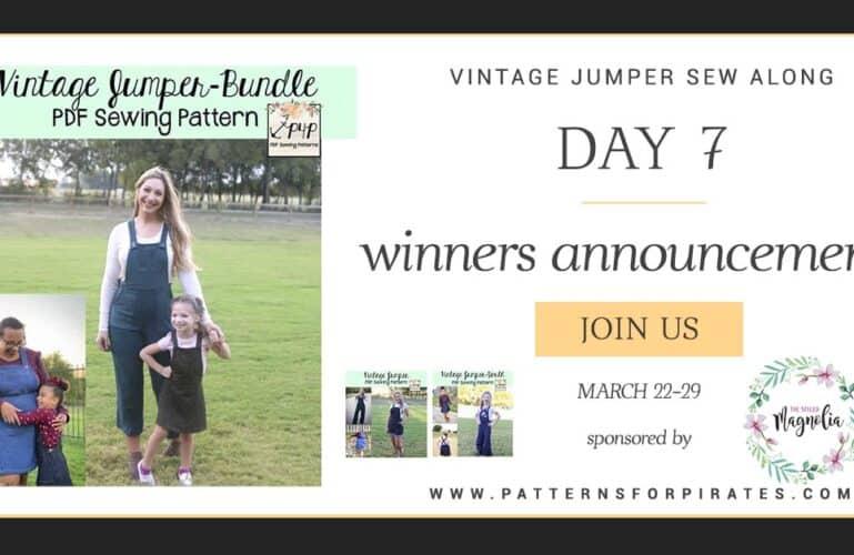 Vintage Jumper Sew Along – day 7