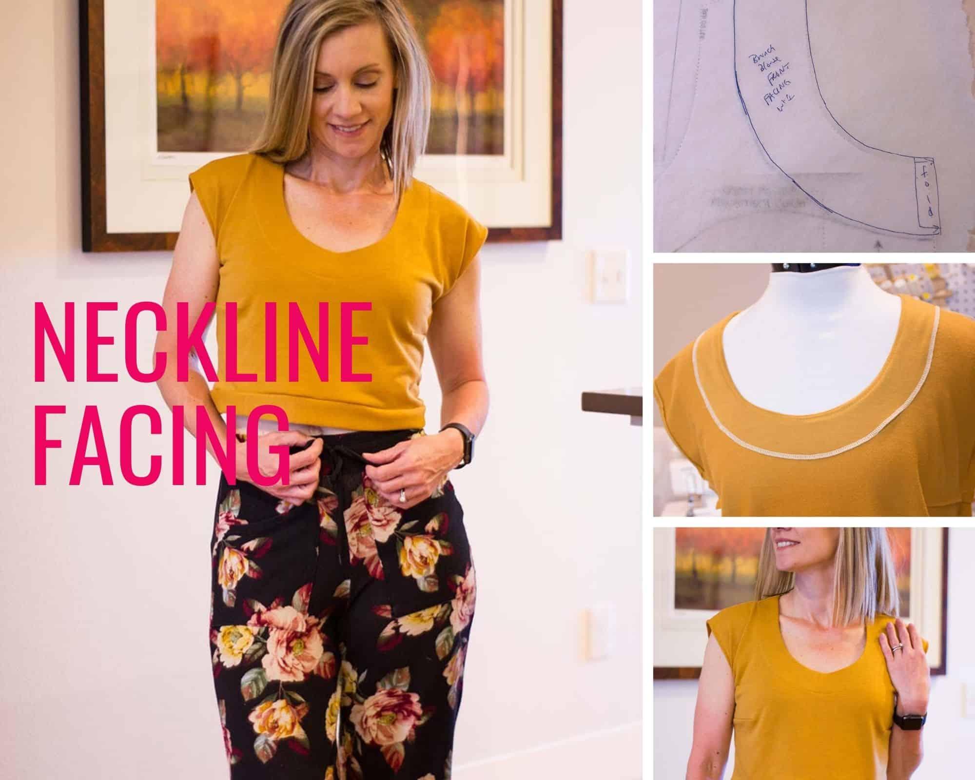 Neckline Facing