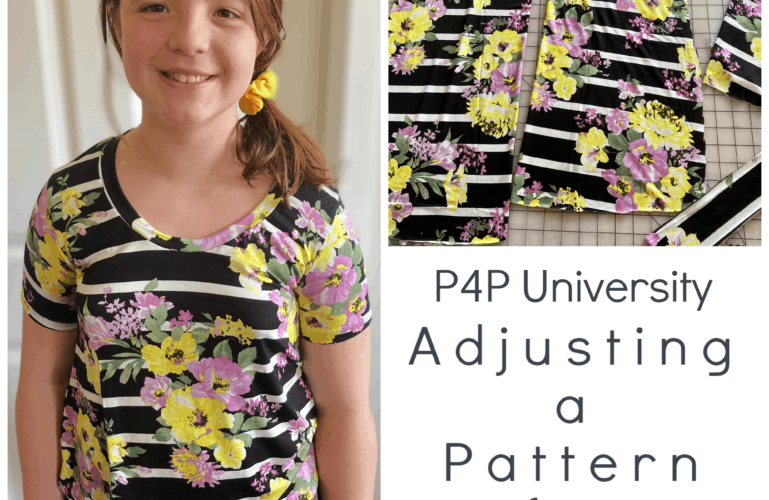 P4P University- Adjusting a Top Pattern for Height