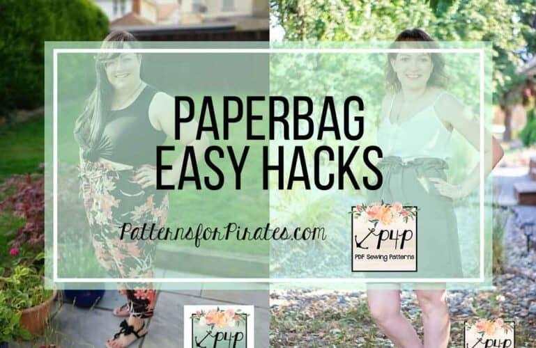 Paperbag Pants + Skirt :: Easy Hacks