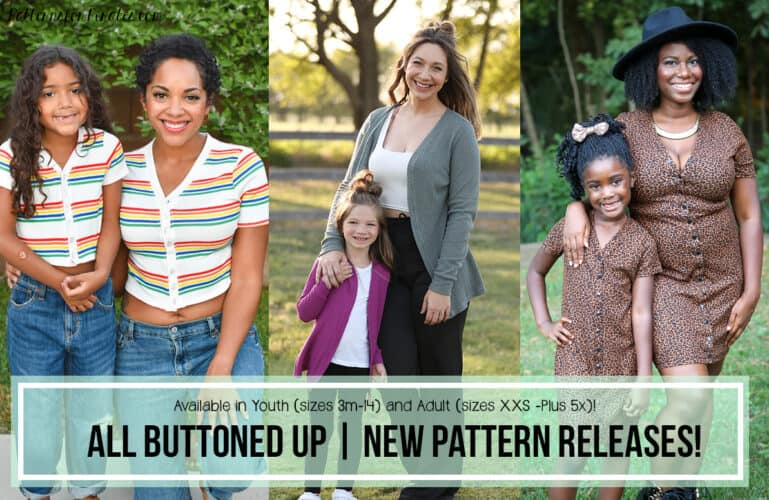 All Buttoned Up :: New Pattern Release!!