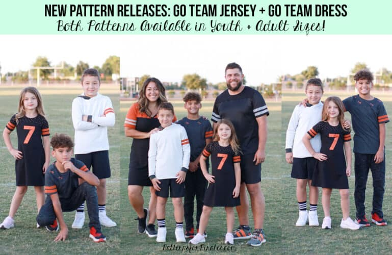 Go Team Patterns :: New Pattern Releases!!